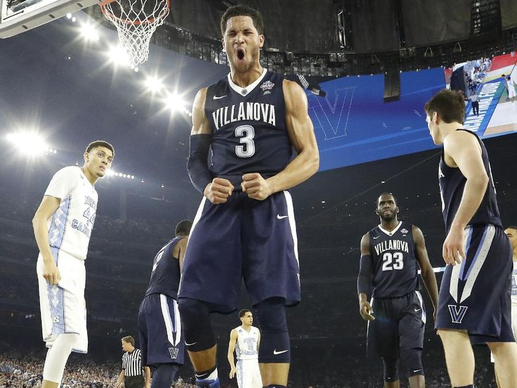 Villanova has defeated North Carolina 77-74 on a 3-pointer by Kris Jenkins at the buzzer to win the 2016 NCAA basketball championship. It's the second NCAA tournament title in school history for the Wildcats.
