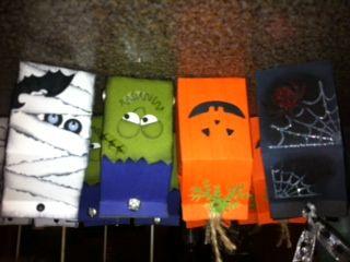 treat holders for my grandaughter using stampin up mini milk carton die halloween cardshalloween ideastreat - Stampin Up Halloween Ideas