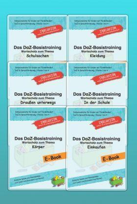 Daz-Basistraining - Großes Sparpaket mit vielen Wortschatzübungen