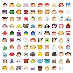 99 Tsum Tsum Character Digital Large Print Files