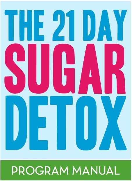 21 Day Sugar Detox - something I really, really, really need to do...
