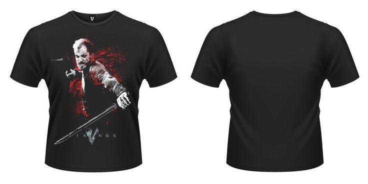 Serie VIKINGOS - Camiseta de chico M/C Vikings Camiseta Floki Attack