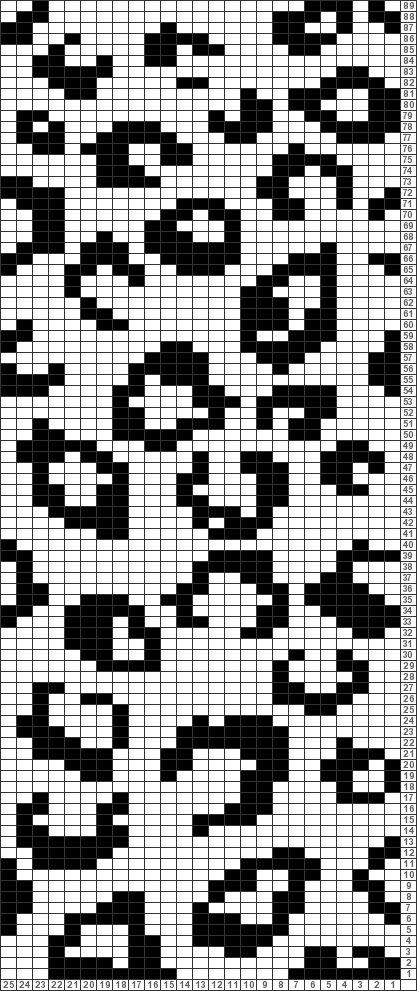 Tricksy Knitter Charts: Fair Isle reindeer pattern by Beccibroad