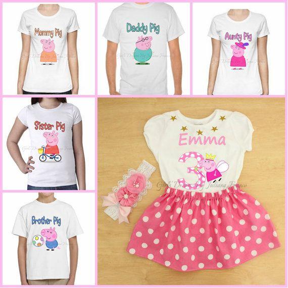 Camisas familia Peppa Pig Peppa Pig camiseta por GirlsDreams
