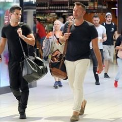 EXCLUSIVE: Wedding bells? Ian Thorpe and Ryan Channing fly off on holiday - but will they tie the knot