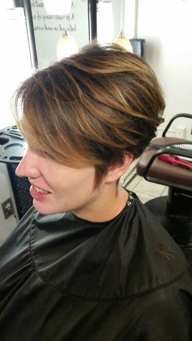 hair cut styles for balayage pixie haircut hair 6662