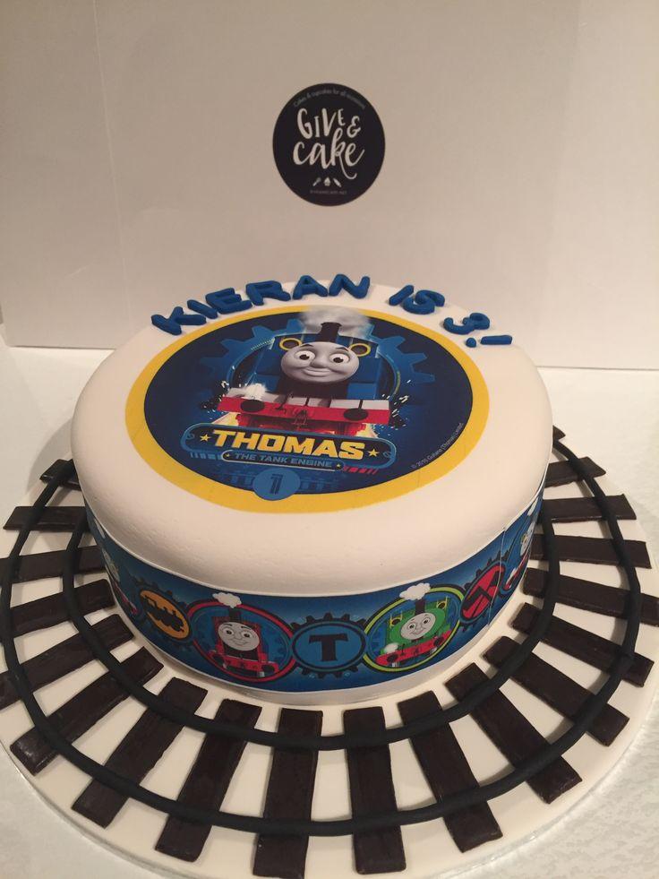 Thomas The Tank Engine Edible Image Cake