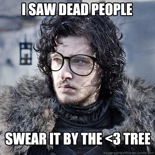 hipster jon snow  game of thrones  a song of ice and fire