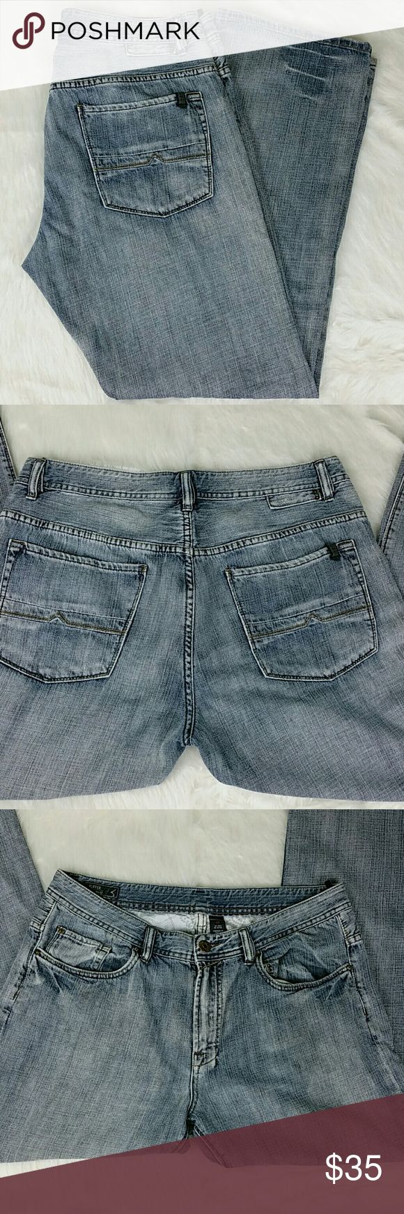[Buffalo] Men's 36x32 David Bitton Ruffer Straight [Buffalo] Men's David Bitton Ruffer Straight Jeans Condition: Pre-owned in excellent condtion Size: 36W X 32L Measurements: See photo #7 for details Material: 100% Cotton Buffalo Jeans Straight