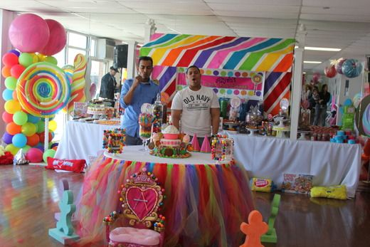 "Photo 16 of 68: Candy Land Sweet Shoppe / Birthday ""Aliyah's 1st Birthday ""Candy Land Sweet Shoppe"""" 
