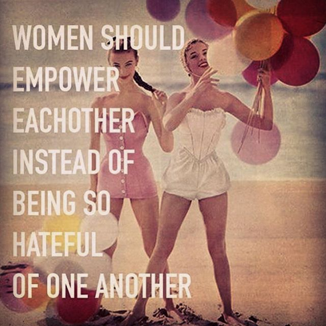Amen! Especially when it comes to the beginning of a new fitness and health journey, it's so hard to get started and once you find your motion it's easy to keep going. Having support of others around you makes it far easier especially women in your shoes lift each other up rather than put each other down because you can't sit there and think putting others down feels good! Empowered women, empower other women, keep going you CAN do this #soulardour