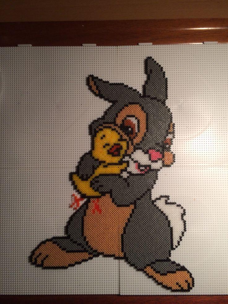 Stambe fra bambi Rabbit hama bead