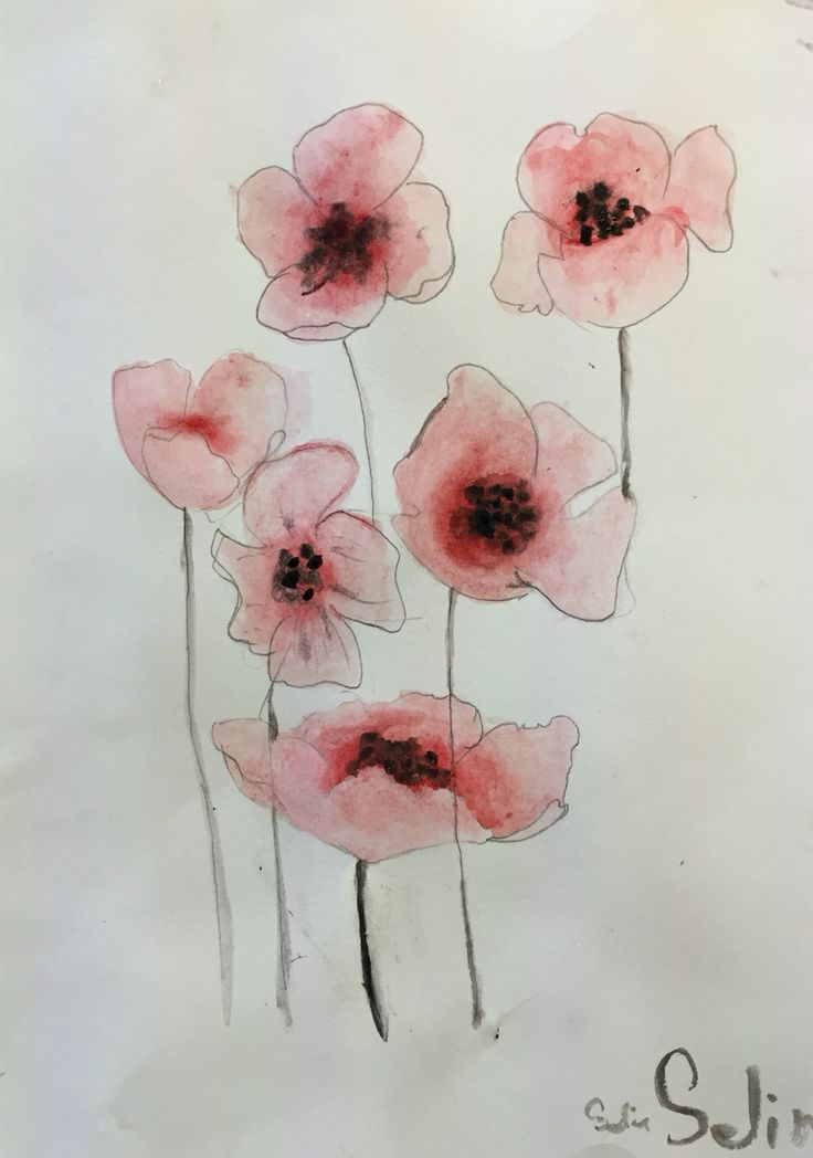 Akvarel 4. klasse