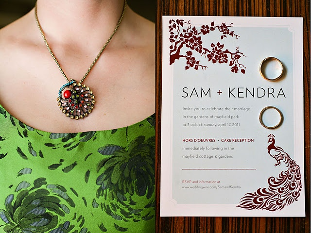 peacock wedding- bridesmaid gift | clients style ...