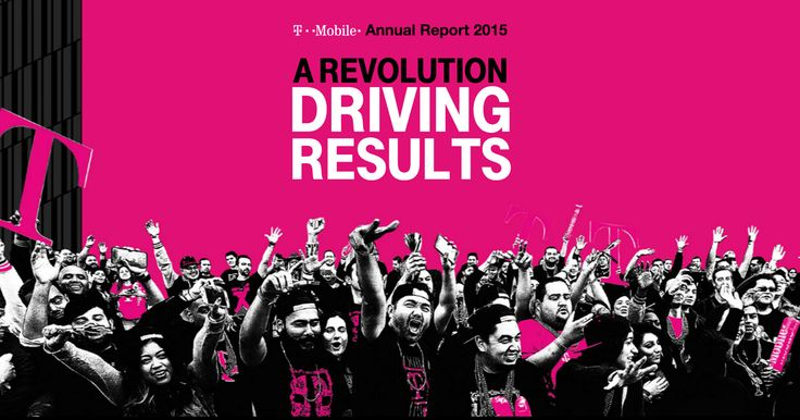 Check out our 2015 annual Uncarrier report. In 2015 we delivered strong results and were America's fastest growing wireless company again! Learn more here.
