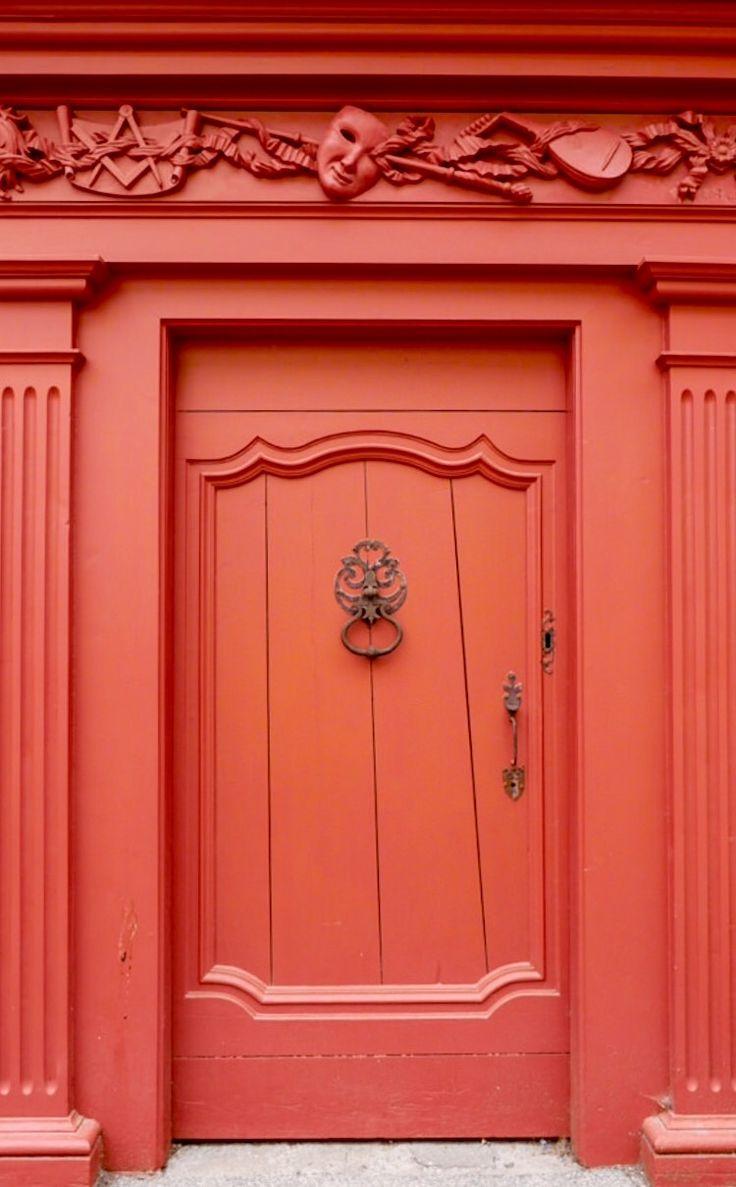 Red Door, Pézenas, Hérault, France by CFotoPassion By Alexandre W.