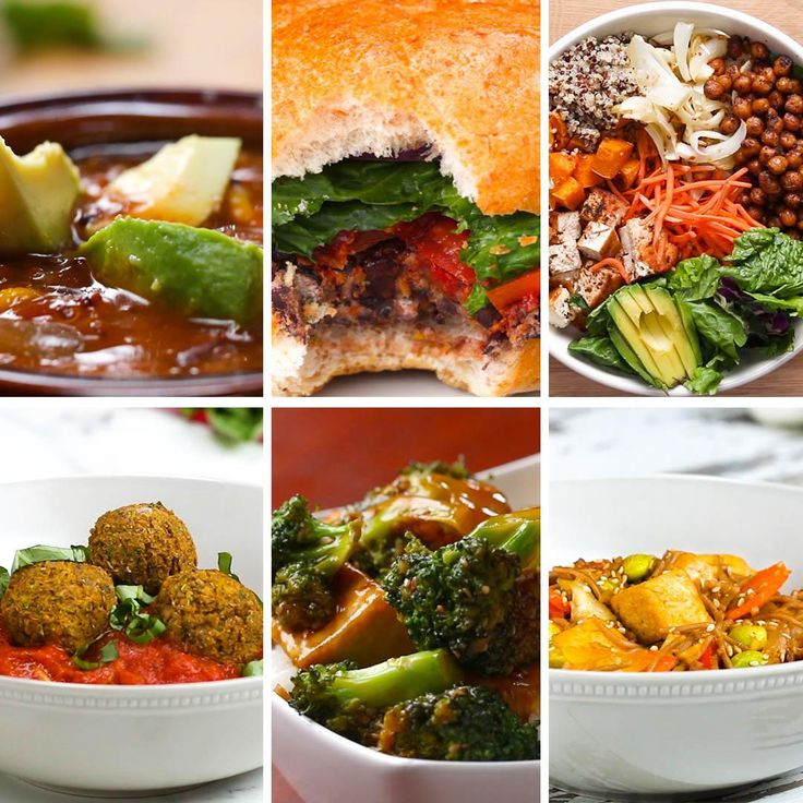 6 High Protein Vegetarian Dinners by Tasty