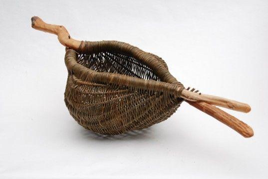 Basket Making Supplies Ireland : Ideas about birch bark baskets on