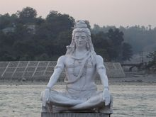 One of the places I will visit : Shiva in Rishikesh