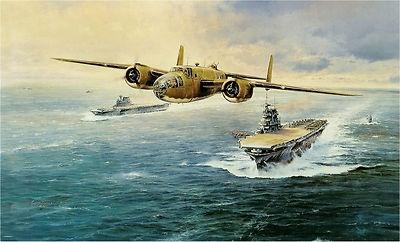 Doolittle Tokyo Raiders, Doolittle signed, Robert Taylor aviation art | eBay