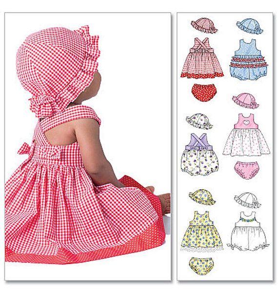 Oop McCall's 4424 Laura Ashley Infants Dresses by sandritocat, $10.00