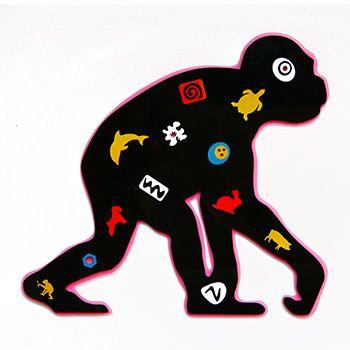 Shape - monkey