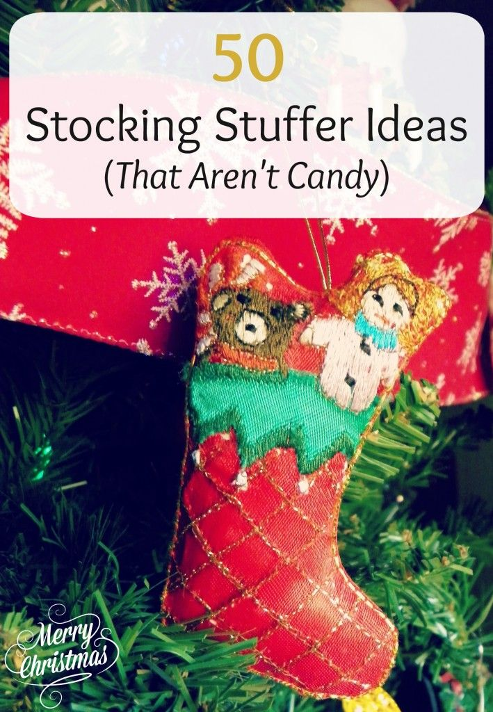 50 Fun Stocking Stuffer Ideas That Are Not Candy