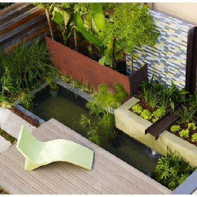 78 best modern zen garden and side yard design images on for Contemporary pond design