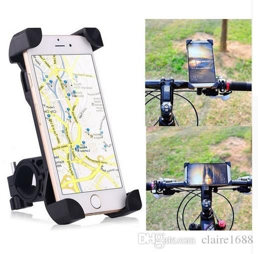 Bike Phone Holder,360 Degree Universal Motorcycle car Bike Bicycle Handlebar Mount Holder For Smartphone GPS Devices - $40.99