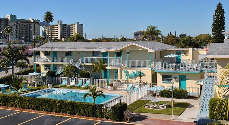 The Dolphin Motel Hollywood Beach, Florida