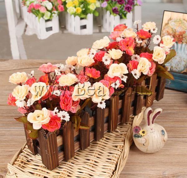 Decoraci n de flores artificiales - Decorar con flores artificiales ...