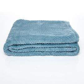 Throw Blanket - Aqua  This luxurious soft fleece throw blanket with a diamond pattern design a perfect throw for your bedroom or living room! #blanket #throwblanket #fleecebanket #bedroomdecor