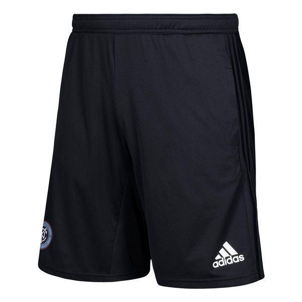 New York City FC adidas climacool Training Shorts - Black - $49.99