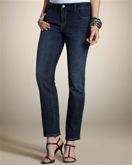 Ankle Jeans: Platinum Denim, Denim Pickstitch, Denim Collection