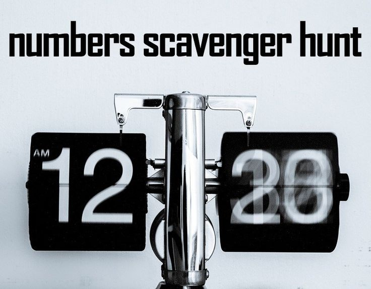 This Numbers Scavenger Hunt is a blast! #stumin #youthministry #numbers #scavengerhunt