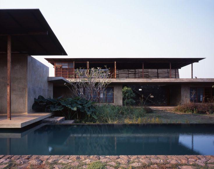 Architects: Studio Mumbai  Location: Satirje, Maharashtra, India