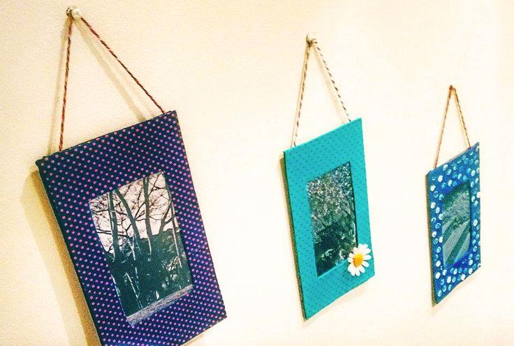 Veja como fazer porta-retrato com papelão de forma simples, bonita e barata! Confira!