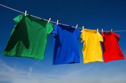 Laundry is one of those necessary evils that most people have to do every week.  Figuring out the easiest way to get out tough stains,   like grease, food, sweat, ink and other stains, is important if you want to keep your clothes looking their best.