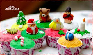 KRISTA MOCAF KITCHEN: Christmas Cup Cake