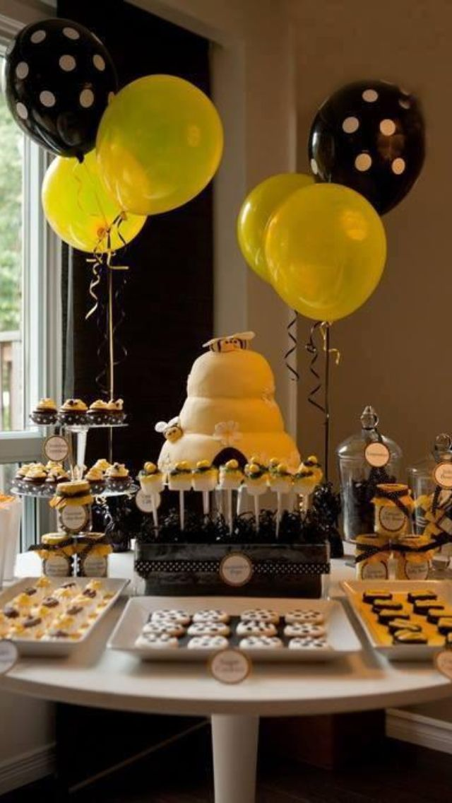 Bee party theme
