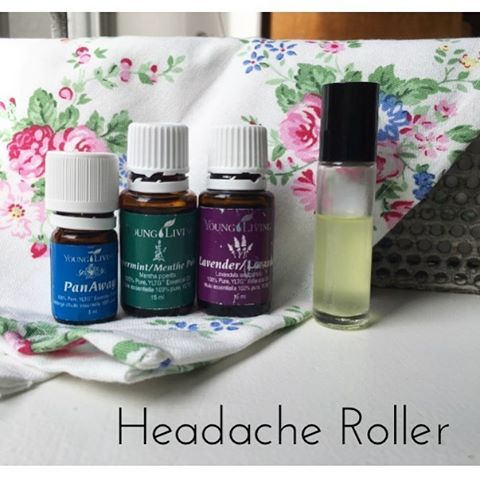 This is one of my favourite rollers. #myoilyhusband gets headaches a lot so I made this up for him within days of getting my starter kit. He was amazed at how quickly it worked. It really helped get him on board with the whole oil thing. I've met a lot of husbands who are skeptical but everyone one of them has come around as soon as they give Young Living a try. Headache Roller -15 drops peppermint -5 drops panaway -5 drops lavender Top with your carrier of choice. #seedtoseal #yleo #esse...