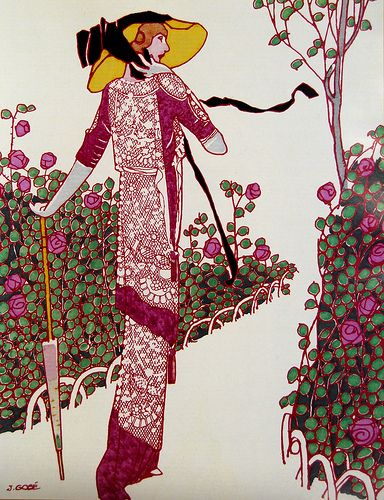 Vintage Fashion Illustration - Lee Sutton