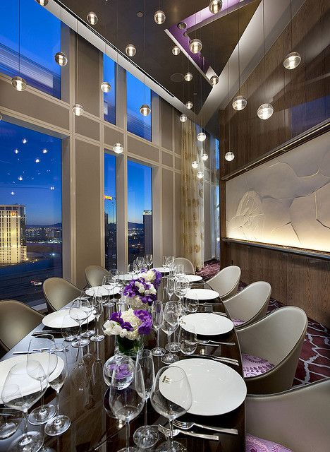 Private dining room at twist restaurant at mandarin oriental las vegas flickr photo sharing - Las vegas restaurants with private dining rooms ...