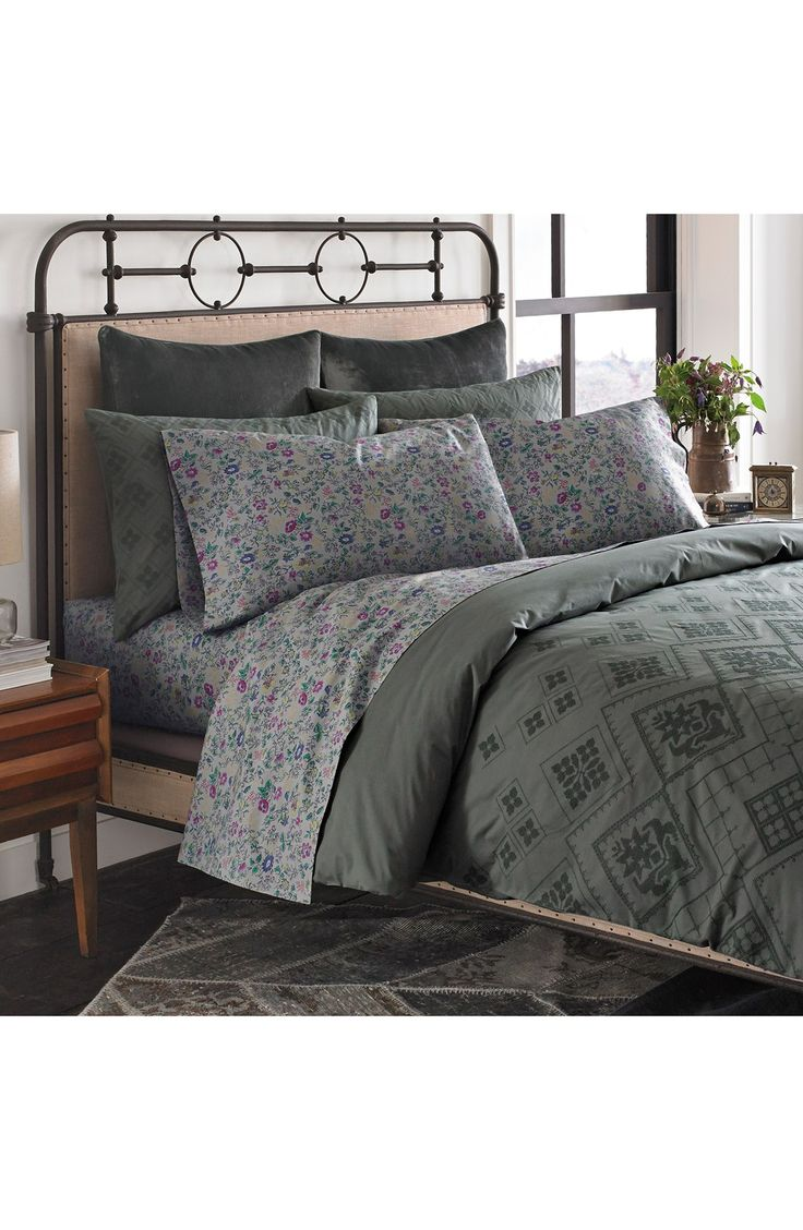 Pcs peter pan bedding set duvet cover fitted sheet pillow case worl - Beekman 1802 Fulton Duvet Cover