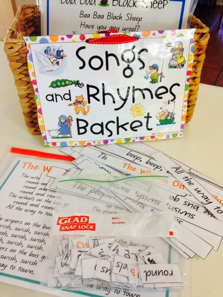 How to Use Songs Poems and Rhymes