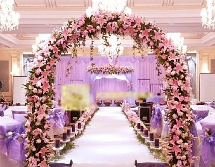 Flower wedding arch decorations best ideas about floral arch on pink bride wedding fake lily artificial arch flower junglespirit Image collections