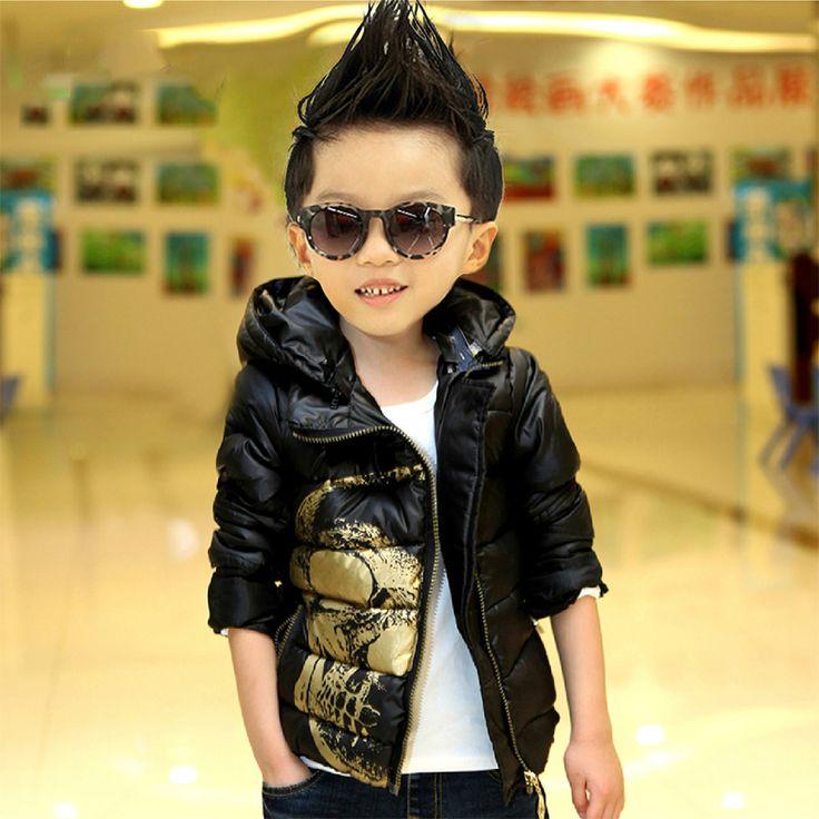 Детские мальчиков зима 2014 новых корейских детей своих детей вниз пальто толстый ватник ребенку куртку - Taobao
