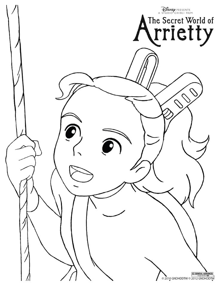 107 best images about studio ghibli coloring pages on for Ponyo coloring pages to print