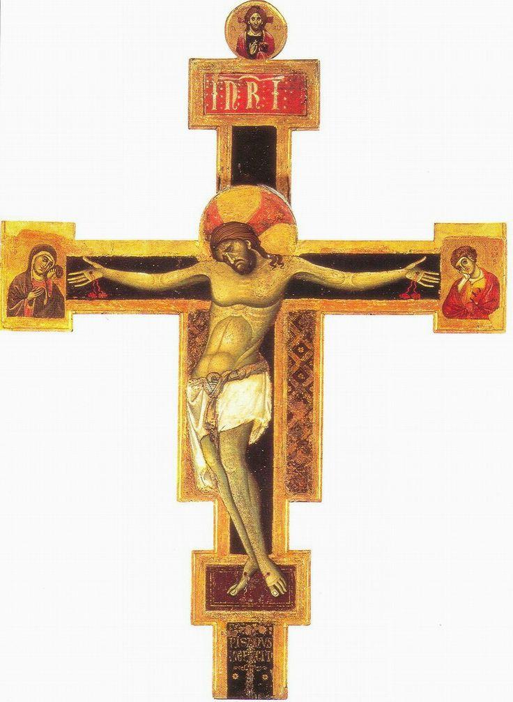 Croce dalla Chiesa di San ranierino prima metà del secolo XIII.