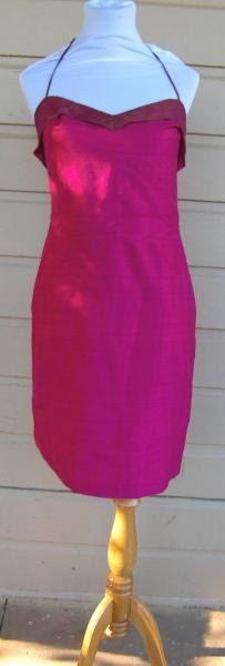 Betsey Johnson dress bust 34 taffeta dress party by VioletsandWine